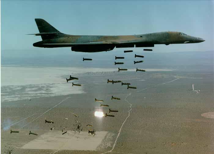 США в 2016 году сбросили 26171 бомб, а агрессор при этом Ким Чен Ын и Асад